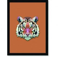 Quadro Poster Pop Art Tigre
