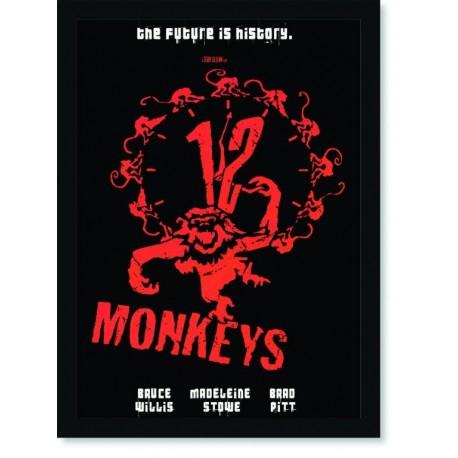 Quadro Poster Series 12 Monkeys 3