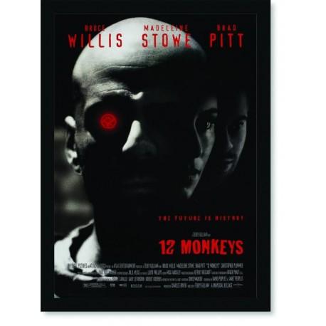 Quadro Poster Series 12 Monkeys 4
