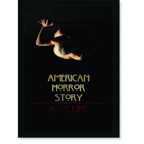 Quadro Poster Series American Horror Story Asylum 1