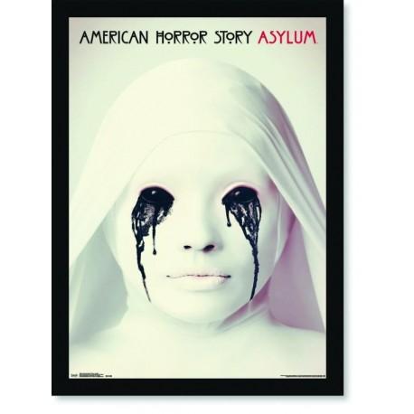 Quadro Poster Series American Horror Story Asylum 2