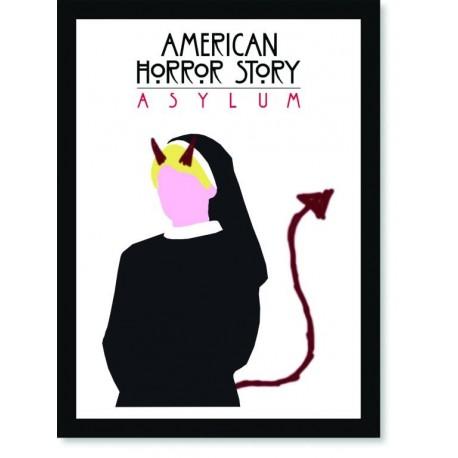Quadro Poster Series American Horror Story Asylum 3