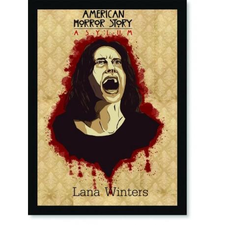 Quadro Poster Series American Horror Story Asylum 4