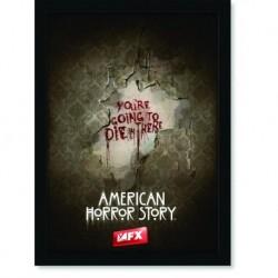Quadro Poster Series American Horror Story Die 1