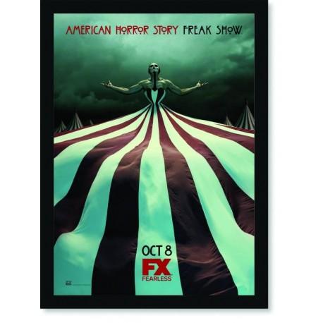 Quadro Poster Series American Horror Story Freak Show 7