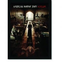 Quadro Poster Series American Horror Story Asylum 5
