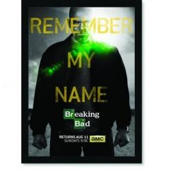Quadro Poster Series Breaking Bad 3