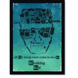 Quadro Poster Series Breaking Bad 19