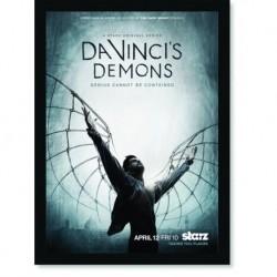 Quadro Poster Series Da Vinci Demon 1