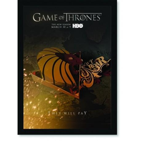 Quadro Poster Series Game of Thrones 20