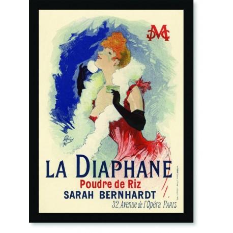 Quadro Poster The Belle Epoque La Diaphane