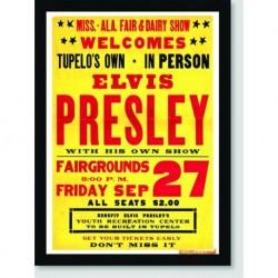 Quadro Poster Musica Elvis Presley Poster Fairgrounds