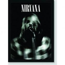Quadro Poster Musica Nirvana Radial