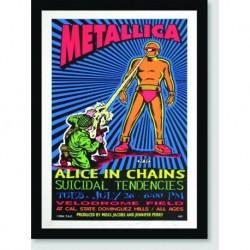 Quadro Poster Musica Metallica Poster Velodrome