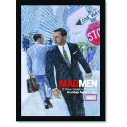 Quadro Poster Series Mad Men 14
