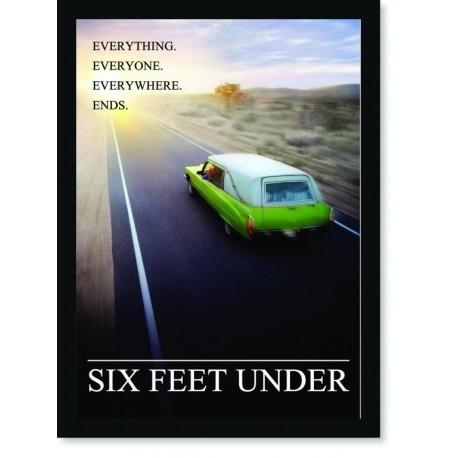 Quadro Poster Series Six Feet Under