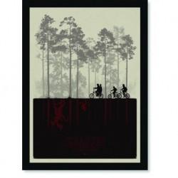Quadro Poster Series Stranger Things 2