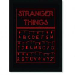 Quadro Poster Series Stranger Things 4