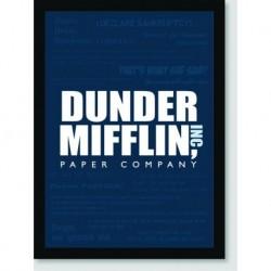 Quadro Poster Series The Office Dunder Mifflin Inc