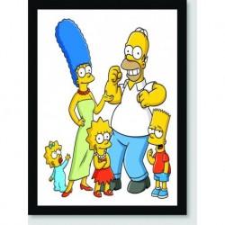 Quadro Poster Series Simpsons