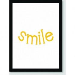 Quadro Poster Pop Art Smile