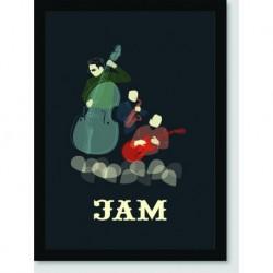 Quadro Poster Pop Art Jam Jazz