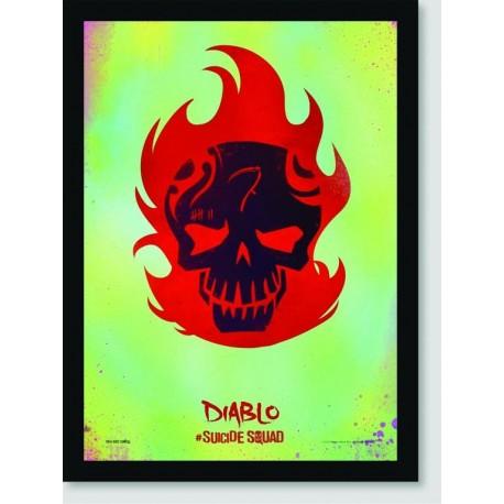 Quadro Poster Filme Esquadrao Suicida 01