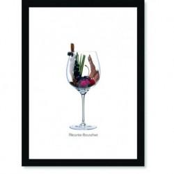 Quadro Poster Vinhos e Sabores Alicante-Bouschet