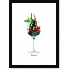 Quadro Poster Vinhos e Sabores Barbera