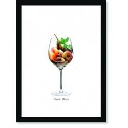 Quadro Poster Vinhos e Sabores Chenin Blanc