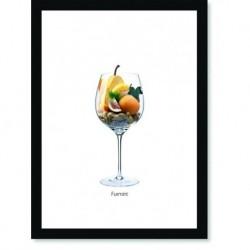 Quadro Poster Vinhos e Sabores Furmint
