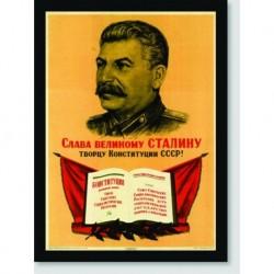 Quadro Poster Guerra Stalin
