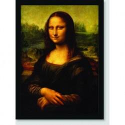 Quadro Poster Pintores Famosos Monalisa