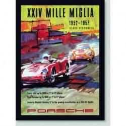 Quadro Poster Carros XXIV Mille Miglia