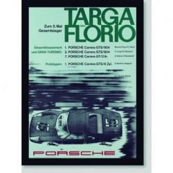 Quadro Poster Carros Targa Florio 1964