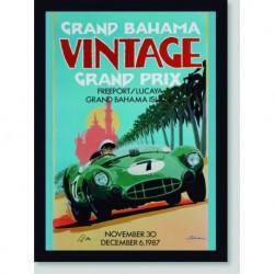 Quadro Poster Carros Grand Prix Bahama