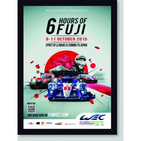 Quadro Poster Carros WEC 6 Hours Of Fuji
