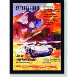 Quadro Poster Carros Targa Florio 42