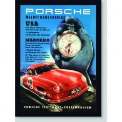 Quadro Poster Carros Porsche 356 Marokko
