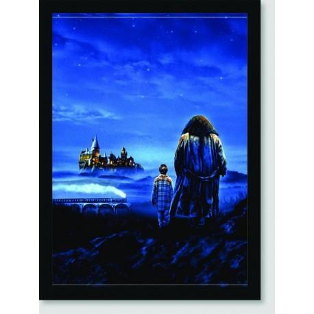 Quadro Poster Filme Harry Potter e a Pedra Filosofal 05