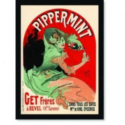 Quadro Poster The Belle Epoque Pippermint