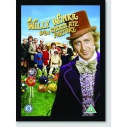 Quadro Poster Filme Willy Wonka
