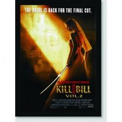 Quadro Poster Filme Kill Bill Vol 2