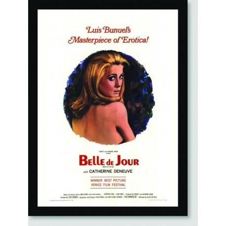 Quadro Poster Filme Belle De Jour