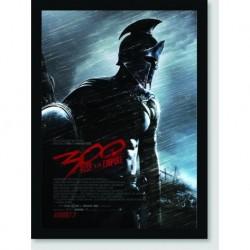 Quadro Poster Filme 300 Rise Of Empire