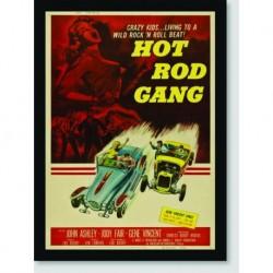 Quadro Poster Filme Hot Rod Gang