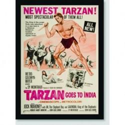 Quadro Poster Filme Tarzan Goes To India