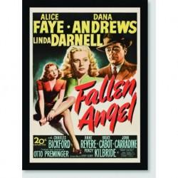Quadro Poster Filme Fallen Angel