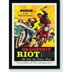 Quadro Poster Filme Dragstrip Riot