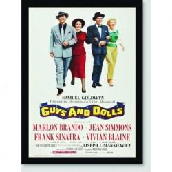 Quadro Poster Filme Guys And Dolls